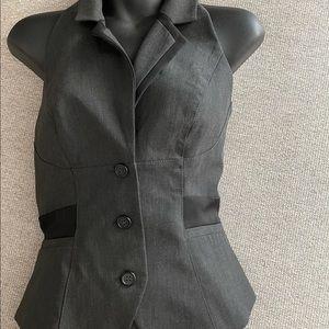Bebe dress suit vest